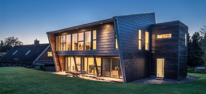 Foretrukne Beklædning med naturskifer: den perfekte løsning til arkitektur  JP06