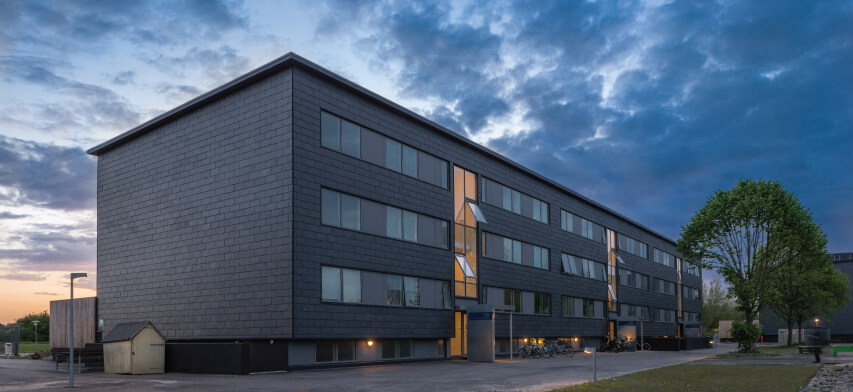 ventileret facade system med naturskifre