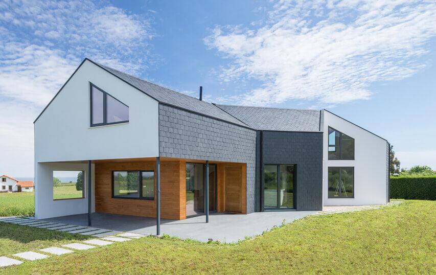 Lavenergi hus med næsten o energiforbrug