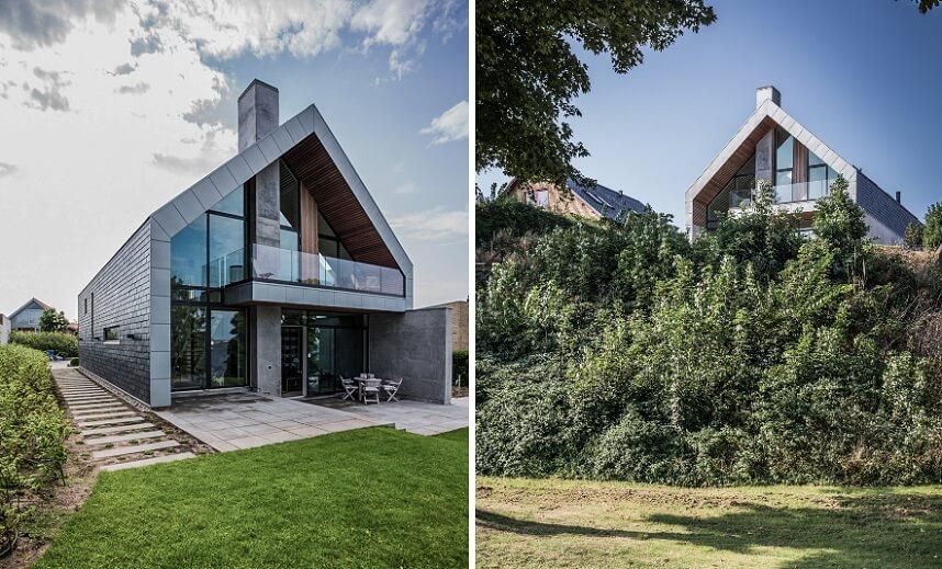 villa p dansk arkitektur