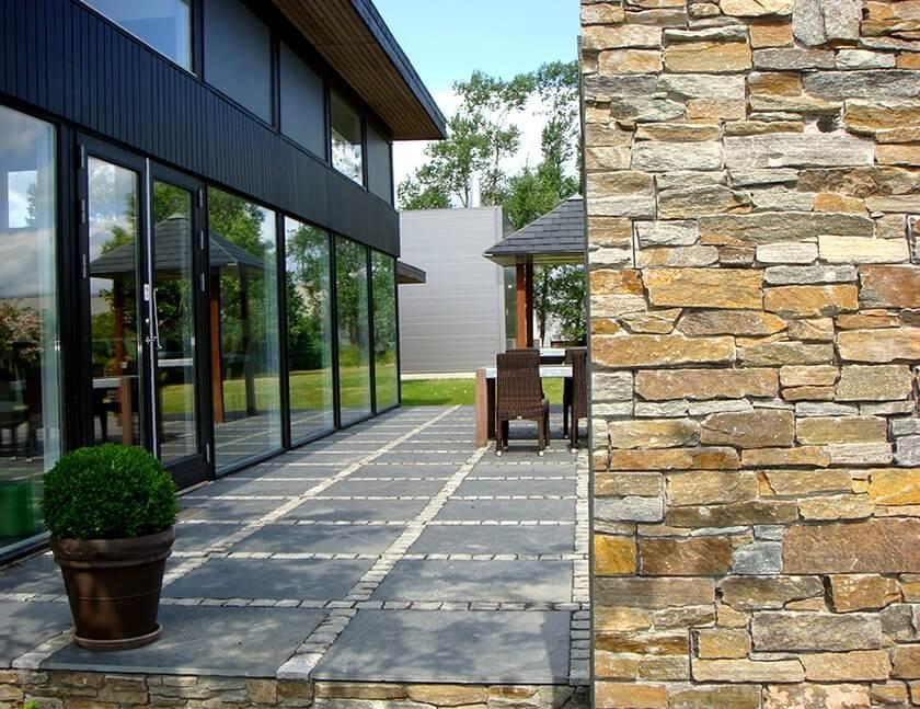 stenpaneler stonepanel rustic
